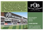 Pub on the Shrubs logo